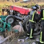 Fallece un hombre esta mañana tras un accidente con tractor