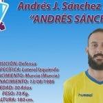 Andrés J. Sánchez Franco ficha por el FC Jumilla
