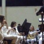 El sábado la Banda Juvenil de la Julián Santos participó en el IV Festival de Pozo Cañada