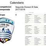 Ya se conoce el calendario de Fútbol Sala de Segunda División B