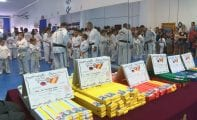 Más de 60 alumnos se han examinado para el cambio de cinturón de taekwondo