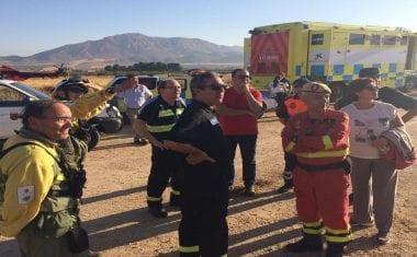 Extinguidos los incendios de Sopalmo y Hornillo en Jumilla