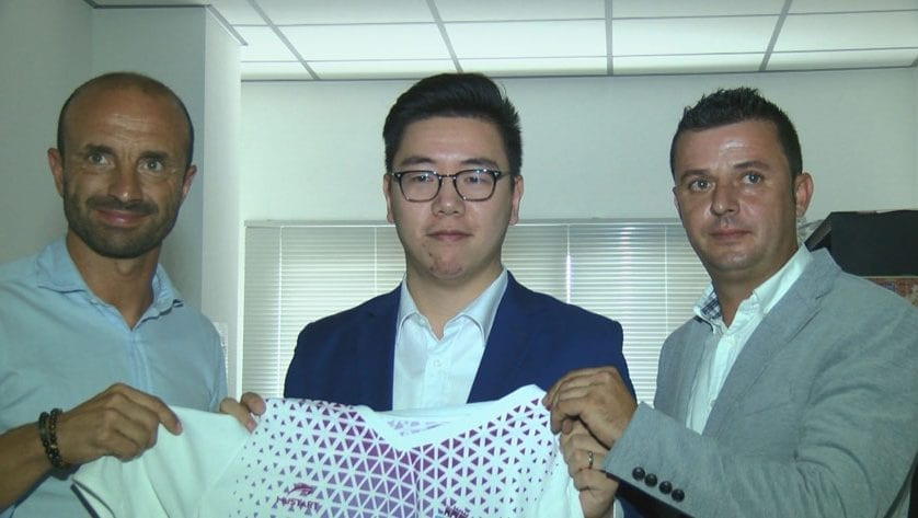 Li Xiang asume la presidencia del FC Jumilla
