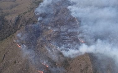 Varios incendios acosan el Término Municipal de Jumilla