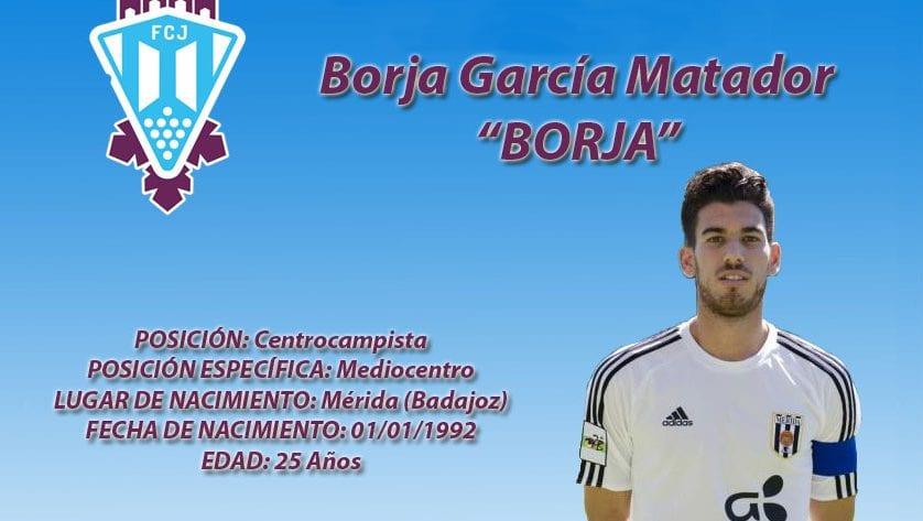 Borja García Matador es jugador del FC Jumilla