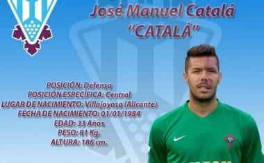 José Manuel Catalá se convierte en el octavo fichaje del FC Jumilla