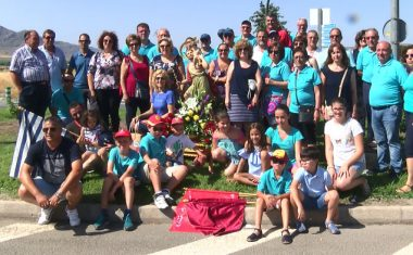 Los transportistas finalizan sus fiestas en honor a San Cristóbal
