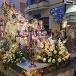 Con la Subida de la Patrona comienza la cuenta atrás para el inicio de la Feria y Fiestas de Agosto