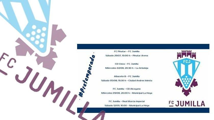 Cinco partidos forman el calendario de pretemporada del FC Jumilla