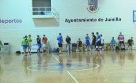 Jugadores de la localidad probaron con el Jumilla FS