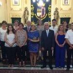 La consejera Noelia Arroyo ha sido la pregonera de las Fiestas de Moros y Cristianos de Jumilla