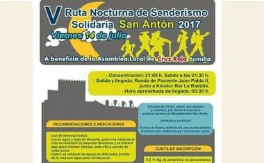 Esta noche tendrá lugar V Ruta Nocturna Solidaria de San Antón