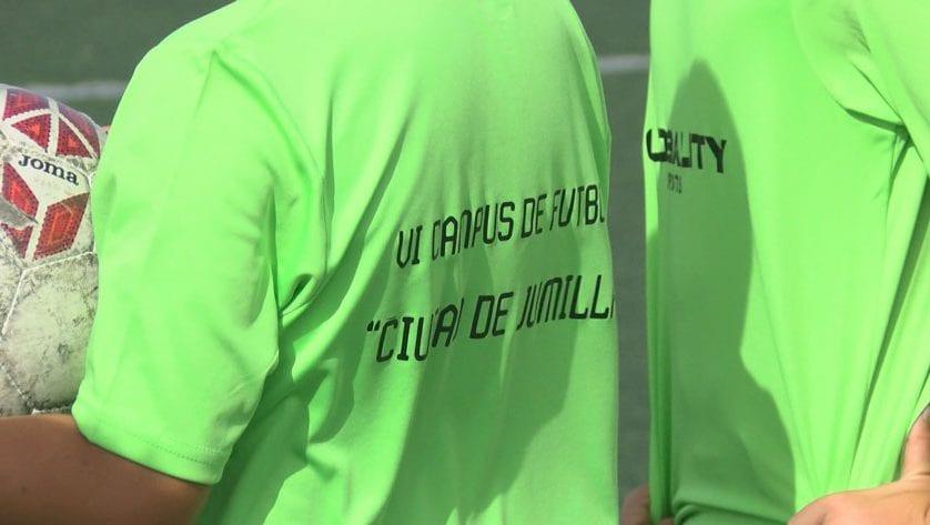 Arranca el VI Campus de Fútbol 'Ciudad de Jumilla'