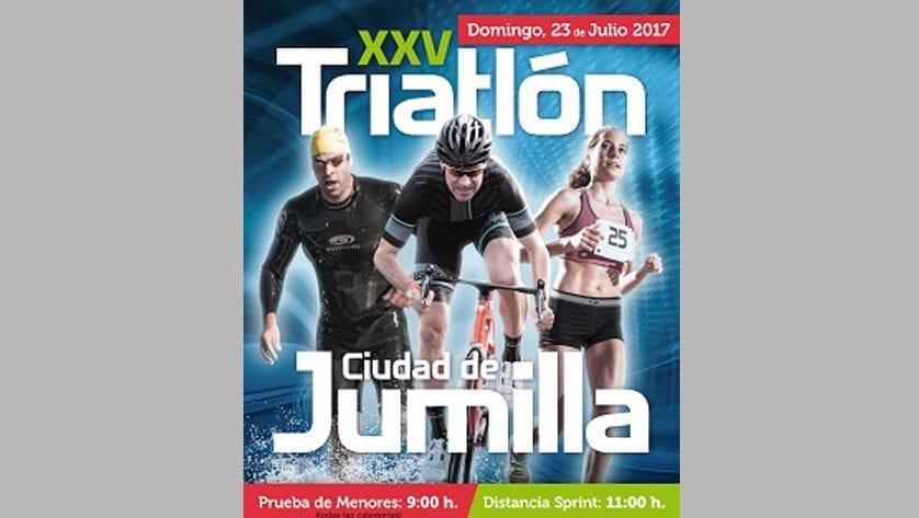 El XXV Triatlón de Jumilla reunirá a 180 triatletas