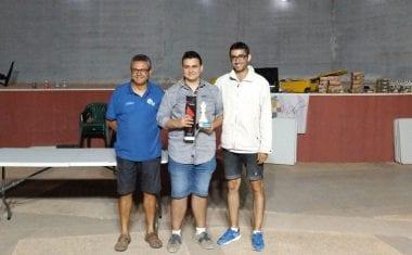 Alejandro Castellanos fue el vencedor del VI Torneo Nocturno de Ajedrez