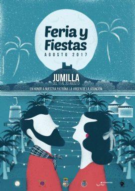 Cartel Feria y Fiestas Jumilla 2017