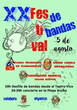 XX Festival de Bandas de la AM Julián Santos