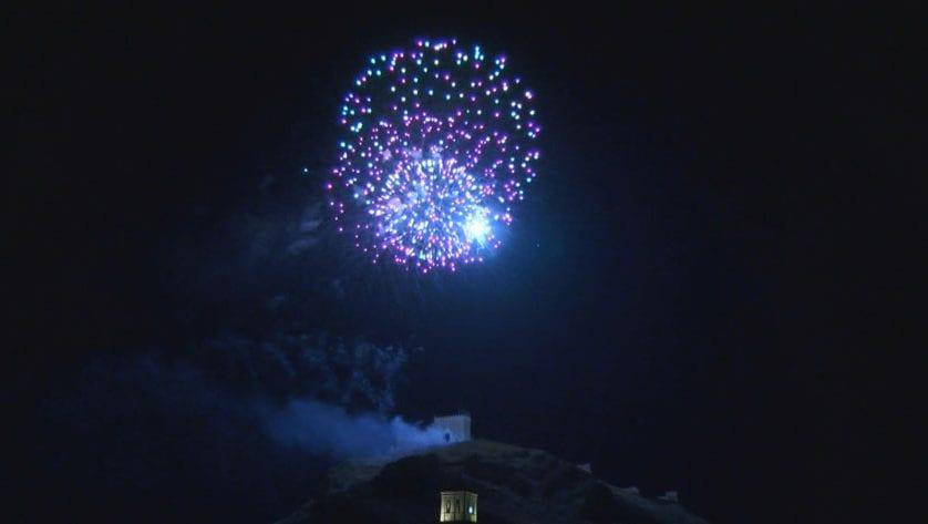 El Castillo de Fuegos Artificiales puso el broche de fin de fiestas