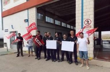 concentracion trabajadores itv jumilla