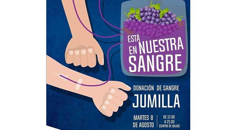 Hoy se lleva a cabo la campaña 'Está en nuestra sangre' organizada por la Fiesta de la Vendimia de Jumilla