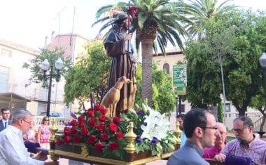 Jumilla ha celebrado los 425 años de la procesión de San Roque, protector de la ciudad