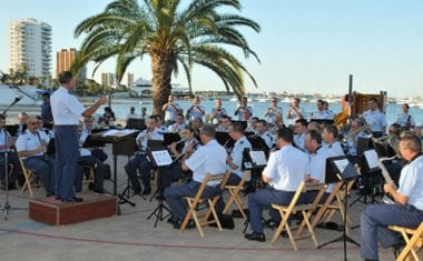 Un concierto de la Unidad de Música de la Academia General del Aire abrirá el 30 Encuentro Nacional de Cofradías