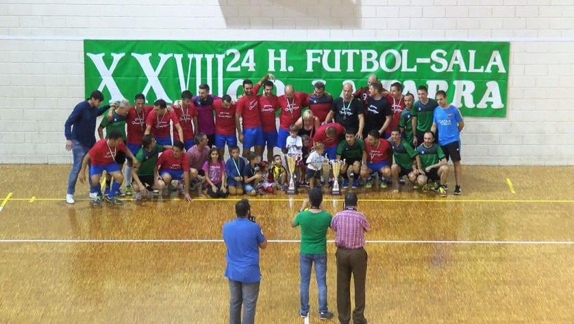 Todo preparado para las 24 H de Fútbol Sala Peña La Parra