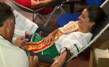 """""""Está en nuestra sangre"""" bate el récord de donaciones de sangre en Jumilla"""