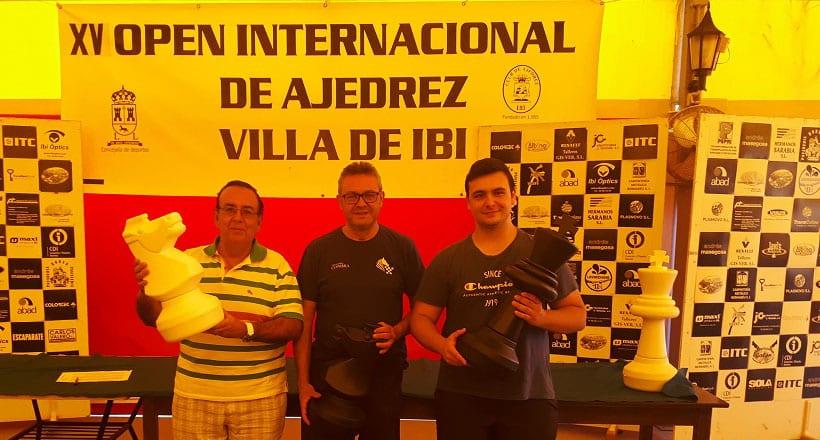 Alejandro Castellanos acabó 3º en el XV Open internacional de Ajedrez Villa de Ibi