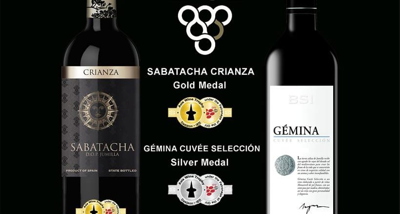 BSI consigue dos melladas en el Asia Wine Trophy 2017