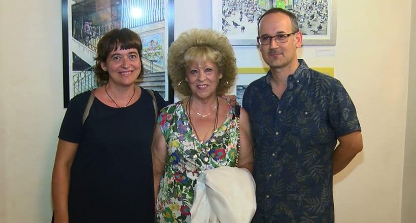 El pintor Eduardo M. Gea expone en la Casa del Artesano coincidiendo con el décimo aniversario del local