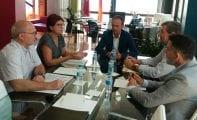 La alcaldesa pide al nuevo consejero de Cultura y Medio Ambiente colaboración para varios proyectos pendientes en Jumilla