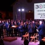 El segundo gran concierto de Semana Santa fue ofrecido anoche por la Banda de Música de la AJAM