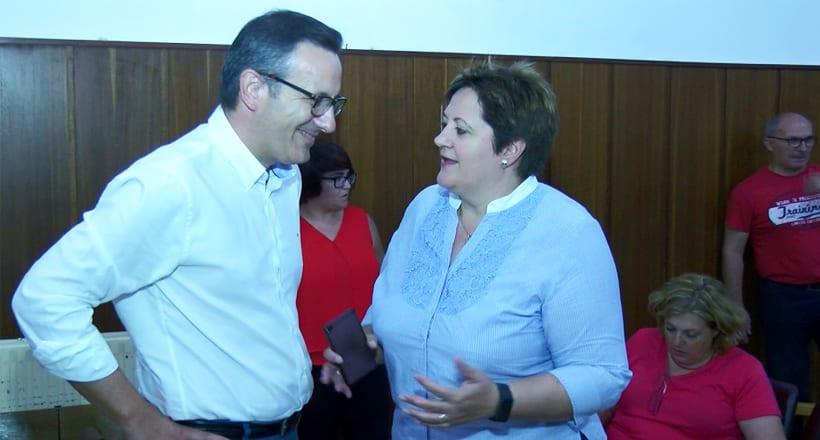 El pre candidato Diego Conesa se reunió con los militantes socialistas de Jumilla