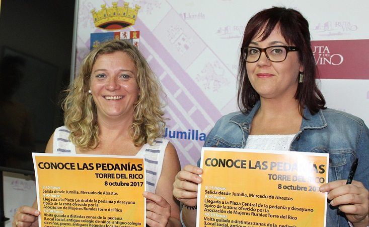 El Ayuntamiento retoma tras el verano el programa 'Conoce las pedanías' con una visita a la Torre del Rico