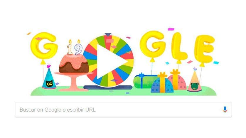 El gigante Google cumple años