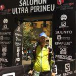 Juan Pedro Molina del Hinneni Trail Running Jumilla participó en la Ultra Pirineu