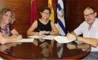 El Ayuntamiento entrega 15.000€ a ASPAJUNIDE en concepto de colaboración