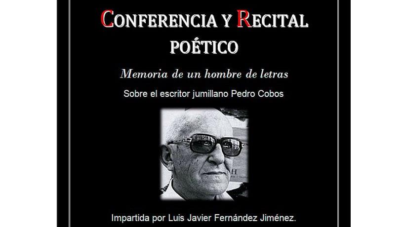 La Asociación Cultural Hypnos homenajeará al escritor jumillano Pedro Cobos