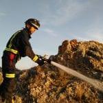 Sofocan un conato de incendio forestal en la Sierra del Buey