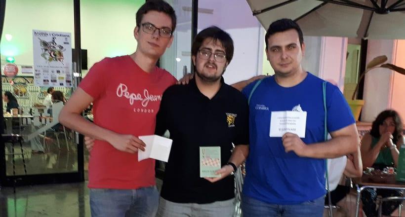 El Club de Ajedrez Mate de Cox ganó el II CUADRANGULAR CIUDAD DE JUMILLA