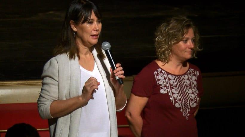 La directora Mabel Lozano presentó ayer en Jumilla su documental 'Chicas nuevas 24 horas'