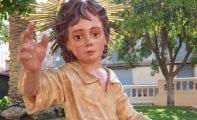 El Niño de las Uvas vuelve al Convento de Santa Ana