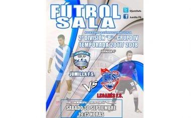 Mañana el Jumilla FS recibe en casa al Leganés FS