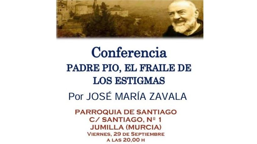 El padre Pío, fraile de los estigmas, será el protagonista de una conferencia que tendrá lugar esta tarde en la Iglesia de Santiago