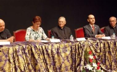 El Obispo de la Diócesis de Cartagena-Murcia preside la Inauguración del 30 Encuentro Nacional de Cofradías