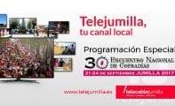 Telejumilla ofrece a partir de mañana los actos destacados del 30 Encuentro Nacional de Cofradías