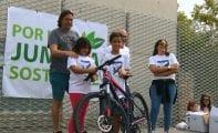 La bicicleta sorteada con motivo de la Semana de la Movilidad ha sido para Pedro Ruiz