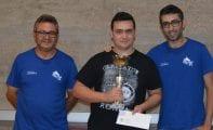 Alejandro Castellanos pelea en el Campeonato de España Individual de Ajedrez