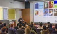 Alumnos de los dos institutos de Jumilla han visitado hoy el Instituto de Neurociencias de Alicante